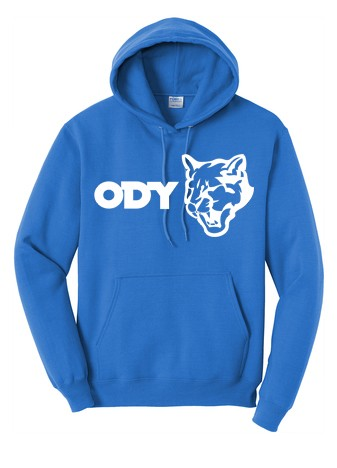 Port & Company® - Core Fleece Pullover Hooded Sweatshirt - Horitzontal Logo