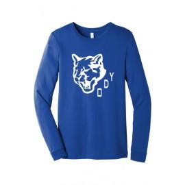 Bella + Canvas Unisex Jersey Long-Sleeve T-Shirt - Traditional Logo