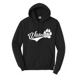 BELLA+CANVAS ® Unisex  Fleece Pullover Hoodie - Wildcats Logo