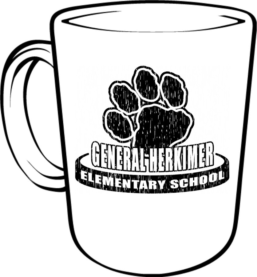General Herkimer Faded Logo Coffee Mug