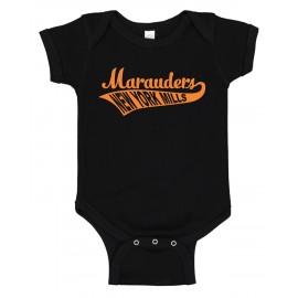Rabbit Skins Infant Baby Rib Bodysuit - Swoosh Logo