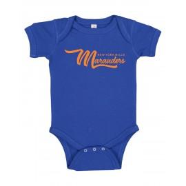 Rabbit Skins Infant Baby Rib Bodysuit - Marauders Logo