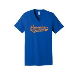 BELLA+CANVAS ® Unisex Jersey Short Sleeve V-Neck Tee - Swoosh Logo