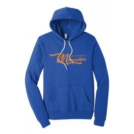 BELLA+CANVAS ® Unisex  Fleece Pullover Hoodie - Marauders Logo