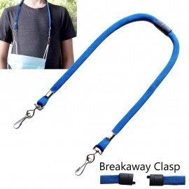 Youth Mask Lanyard With Breakaway Clasp