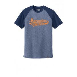 New Era® Heritage Blend Varsity Tee - Swoosh Logo