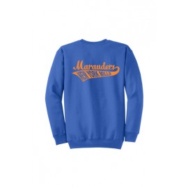Gildan® - Heavy Blend™ Crewneck Sweatshirt - Swoosh Logo