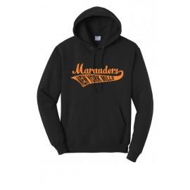 Port & Company® - Core Fleece Pullover Hooded Sweatshirt - Swoosh Logo