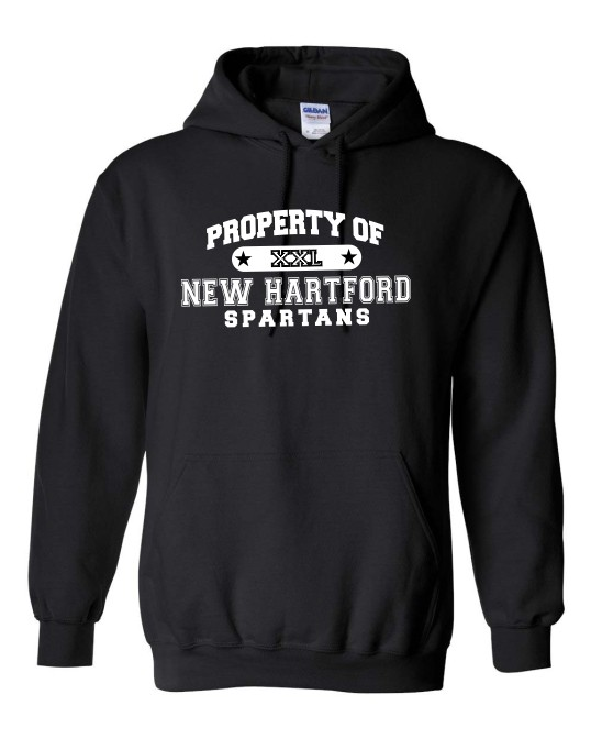 Property Of Spartans Hoodie